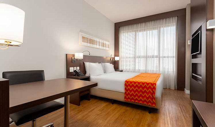 Quarto do Comfort Hotel São Caetano