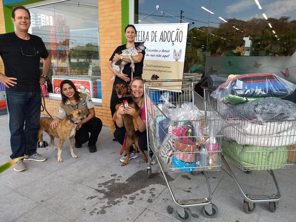 Arrecadações da Campanha Agasalho Pet 2018 na loja de Ribeirão Preto