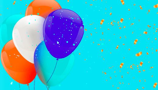 Balões aniversário Cobasi