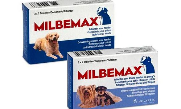 Embalagem remédio milbemax