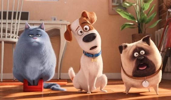 Cena filme de cachorro Pets