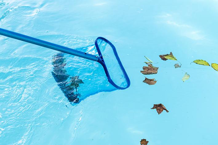 Cuidados de limpeza e armazenagem da piscina MOR 1500 litros